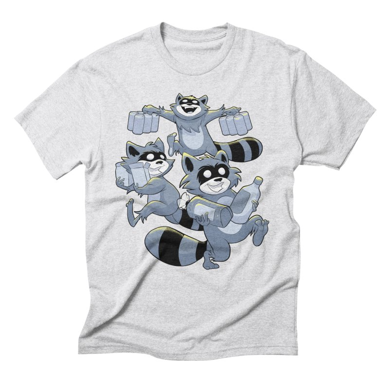 Heist Men's Triblend T-Shirt by Raccoon Brand