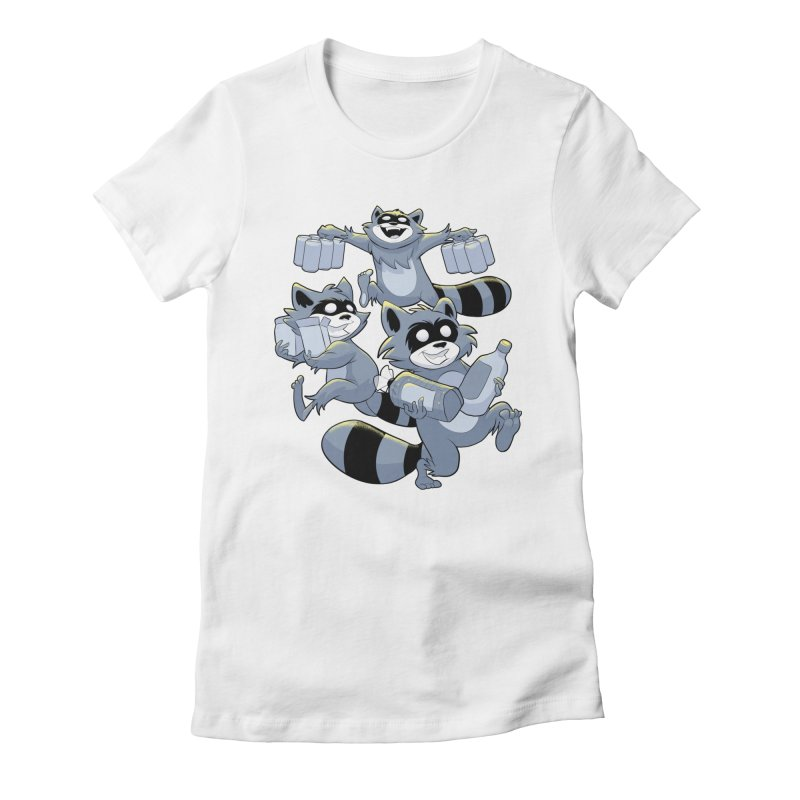 Heist Women's Fitted T-Shirt by Raccoon Brand