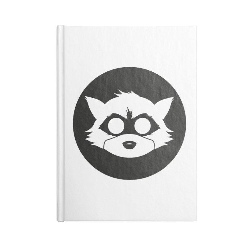 Raccoon Brand Logo Accessories Notebook by Raccoon Brand