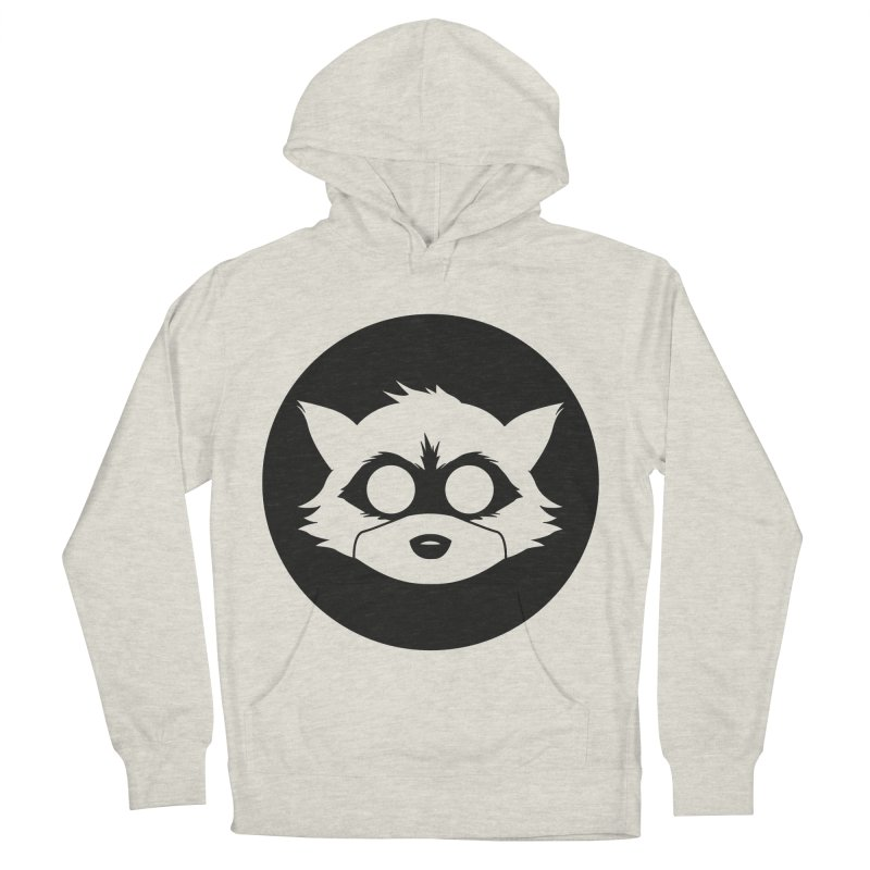 Raccoon Brand Logo Men's Pullover Hoody by Raccoon Brand