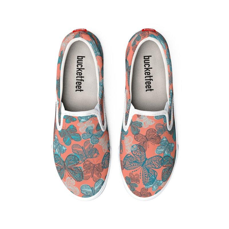 Havana Butterflies Men's Shoes by Rachael Taylor's Artist Shop