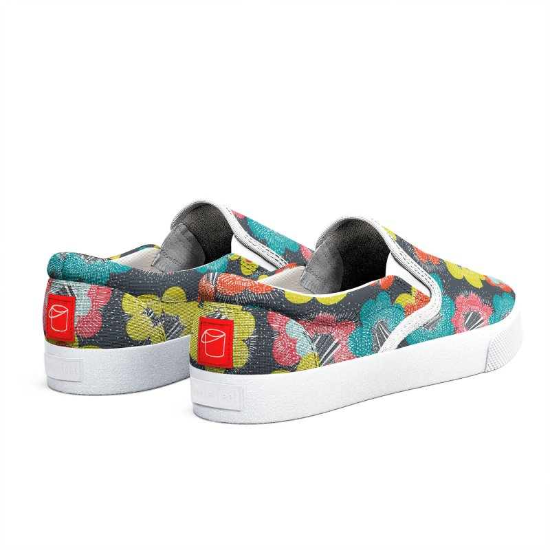 Abstract Burst Retro Men's Shoes by Rachael Taylor's Artist Shop