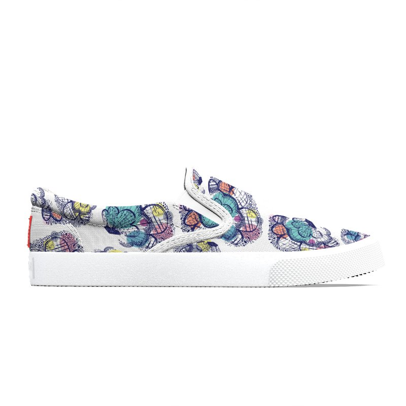 Floral Clouds Men's Shoes by Rachael Taylor's Artist Shop