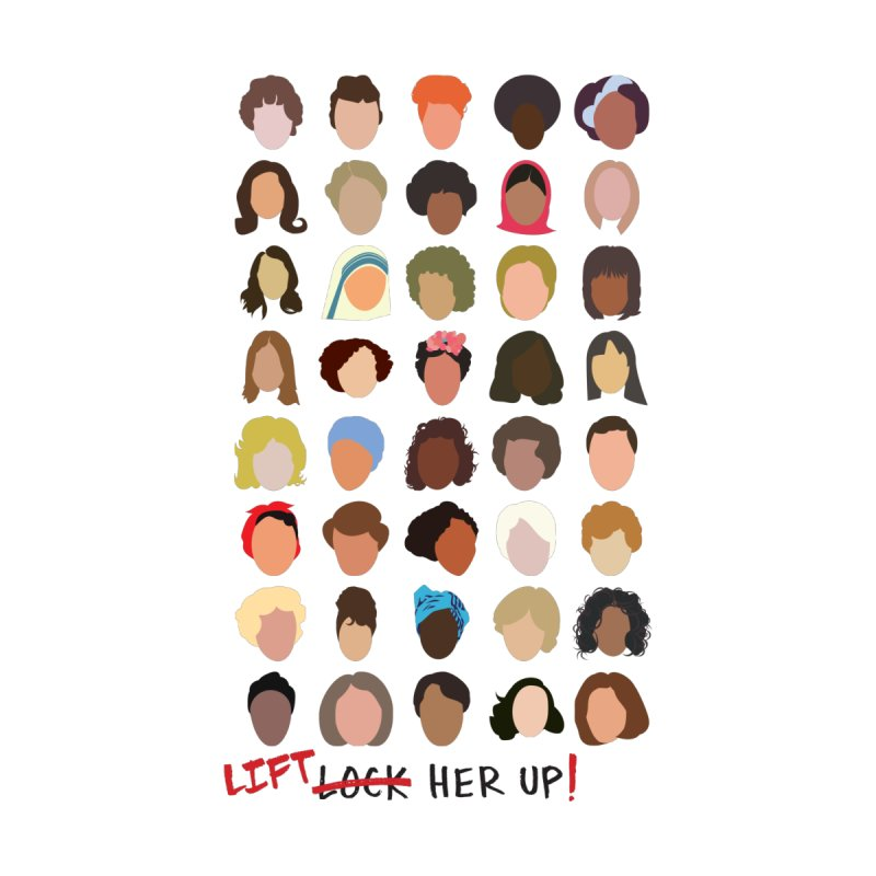 Lift Her Up by Rachel Eeva Design's Artist Shop