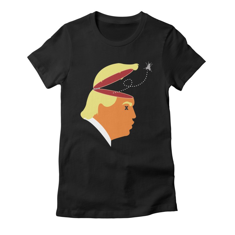 An Irritating Buzz Women's Fitted T-Shirt by Rachel Draws - Donate to Planned Parenthood