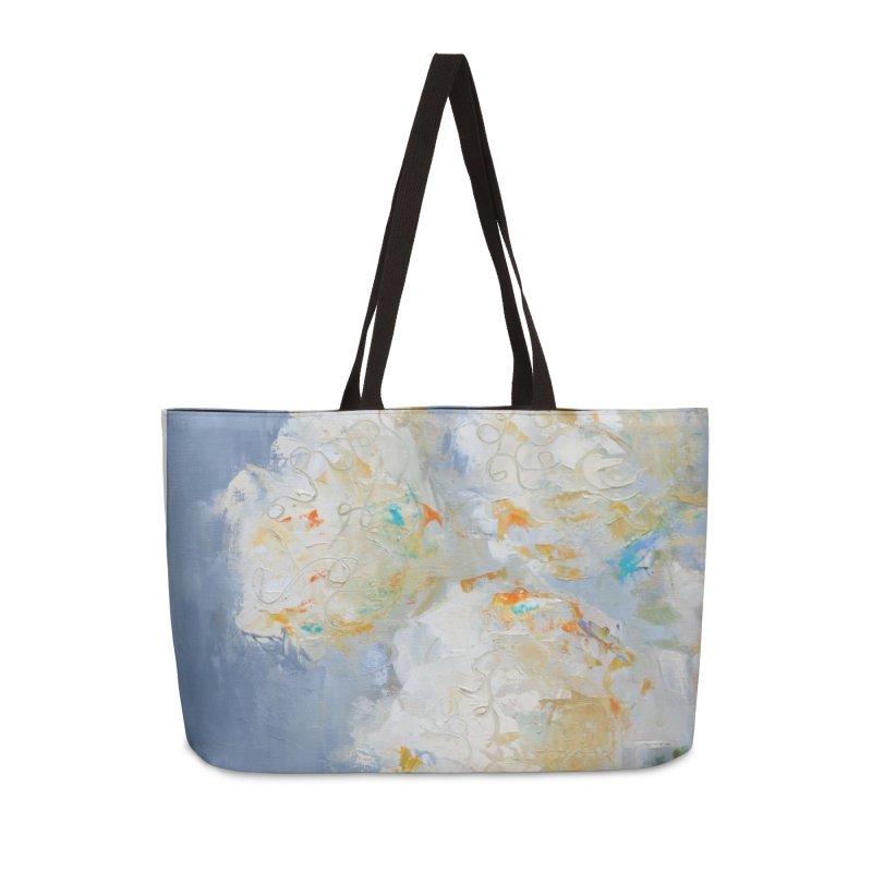 Hydrangea Accessories Weekender Bag Bag by rachelspaintings's Artist Shop