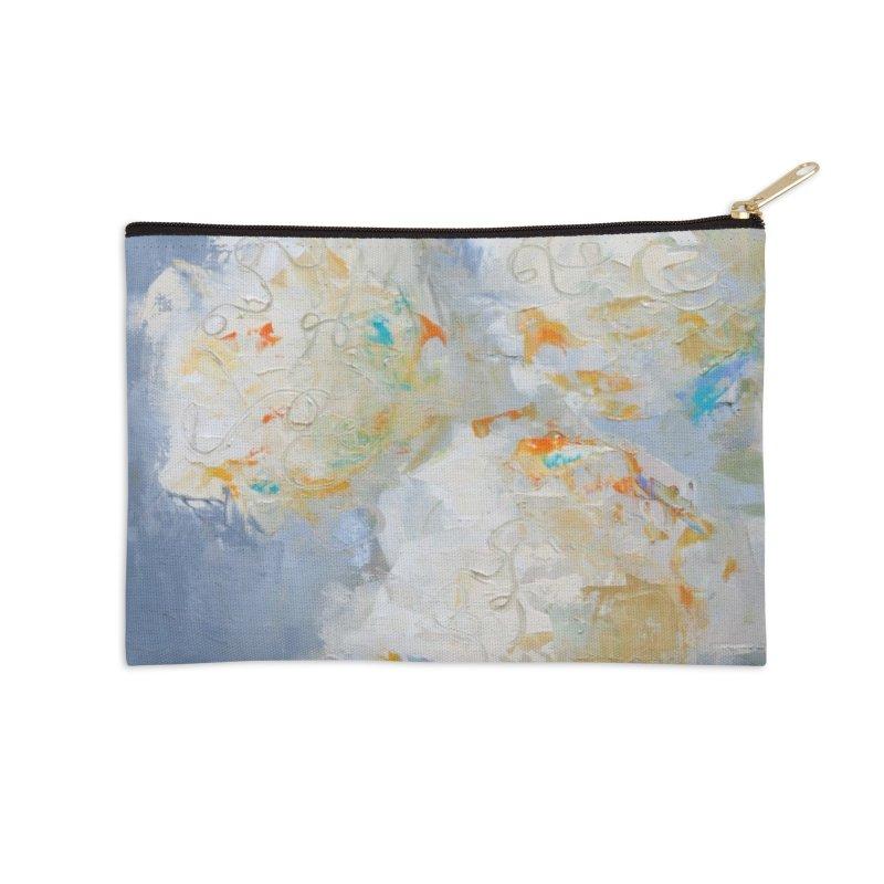 Hydrangea Accessories Zip Pouch by rachelspaintings's Artist Shop