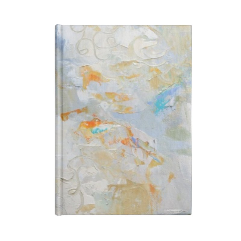 Hydrangea Accessories Lined Journal Notebook by rachelspaintings's Artist Shop