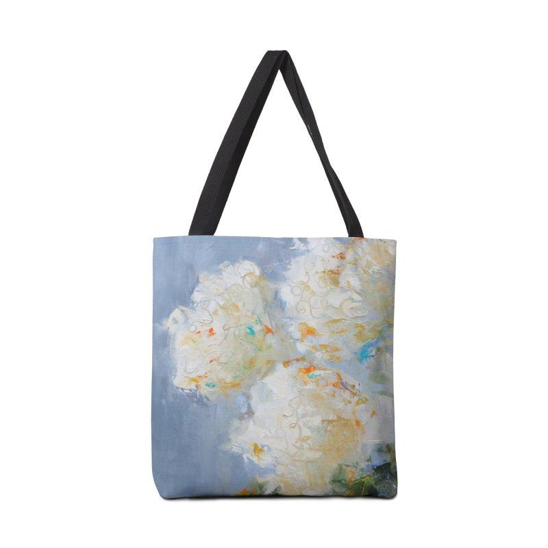 Hydrangea Accessories Tote Bag Bag by rachelspaintings's Artist Shop