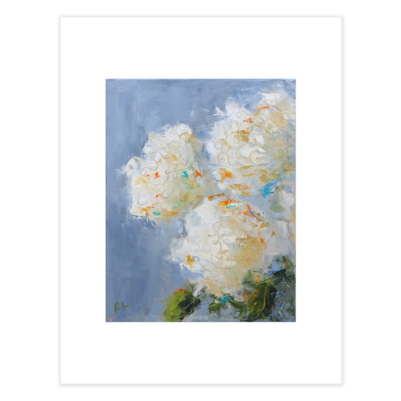 Hydrangea Home Fine Art Print by rachelspaintings's Artist Shop