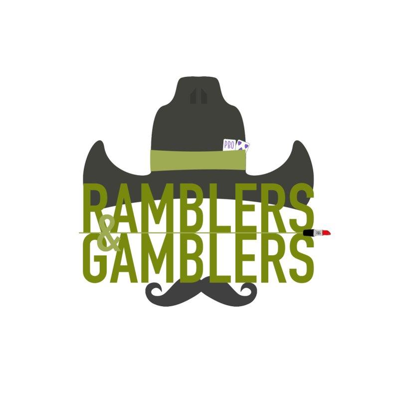 Ramblers & Gamblers logo Men's T-Shirt by Got Romance?