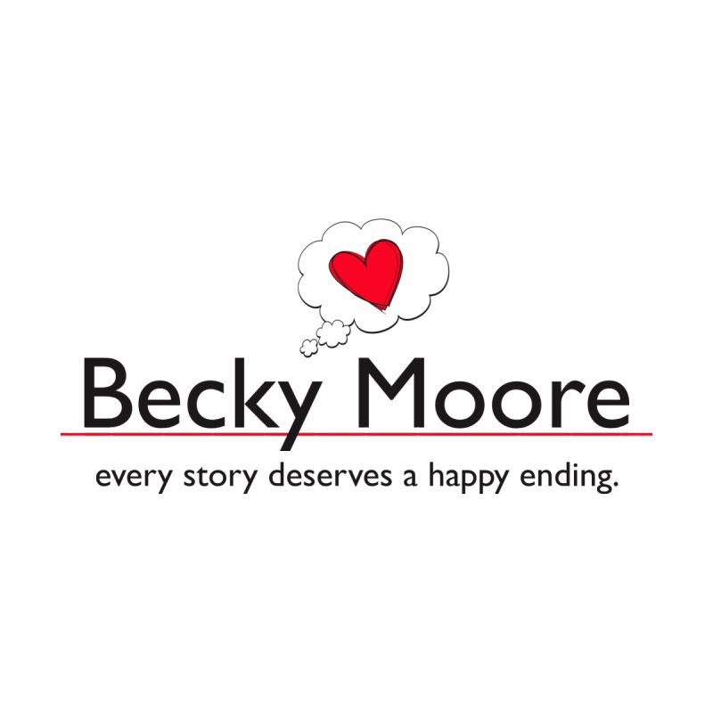 Becky Moore name logo Accessories Sticker by Got Romance?
