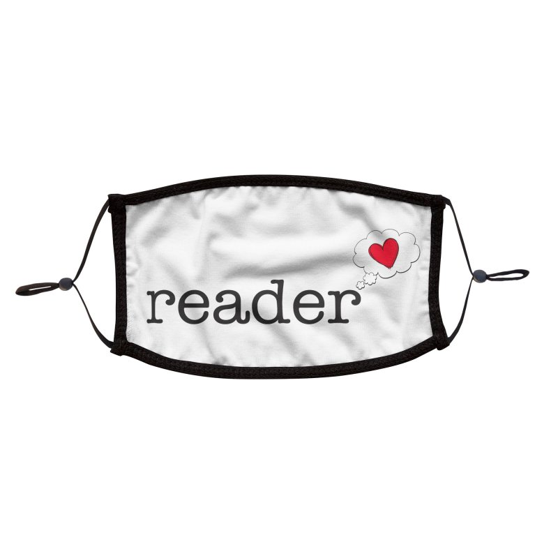 Romance Reader Accessories Face Mask by Got Romance?