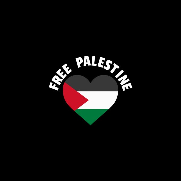 image for Free Palestine Heart