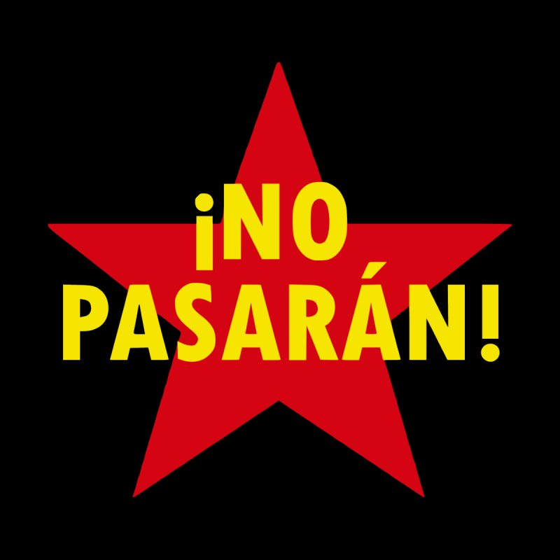 No Pasaran! Accessories Neck Gaiter by RadBadgesUK