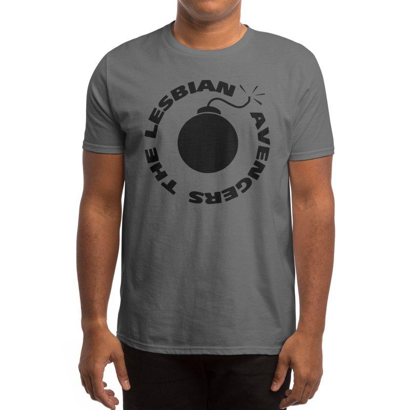 The Lesbian Avengers Men's T-Shirt by RadBadgesUK