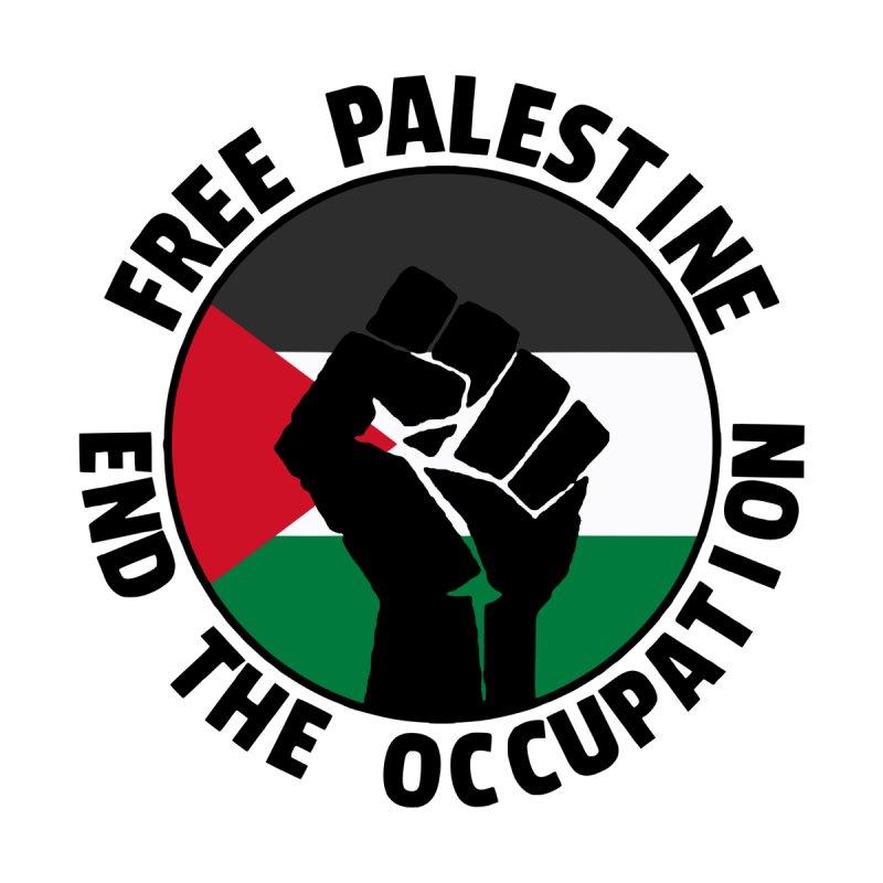 Free Palestine - End The Occupation Men's T-Shirt by RadBadgesUK