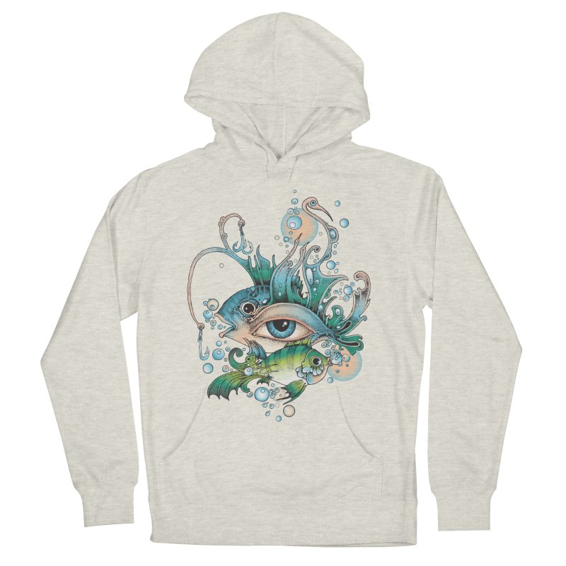 Hook Men's French Terry Pullover Hoody by radecupo's Artist Shop