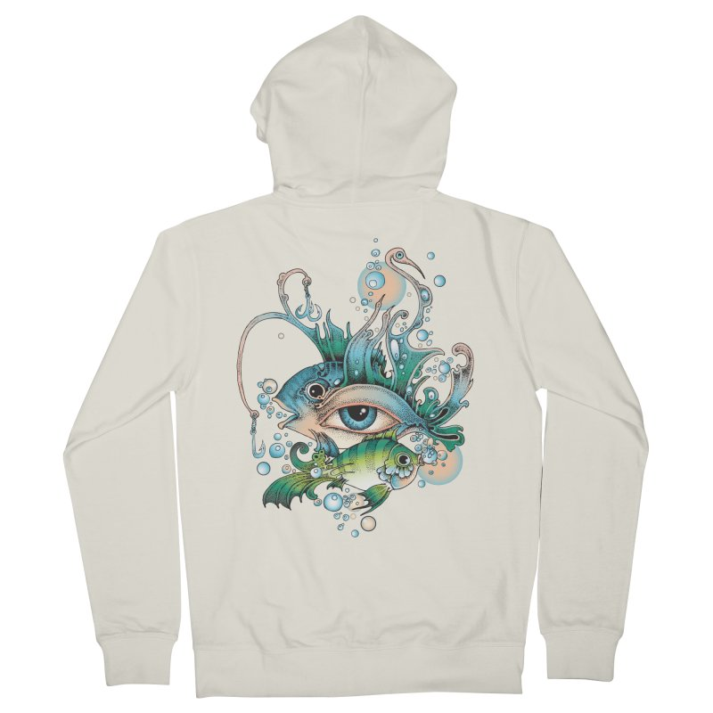 Hook Men's French Terry Zip-Up Hoody by radecupo's Artist Shop