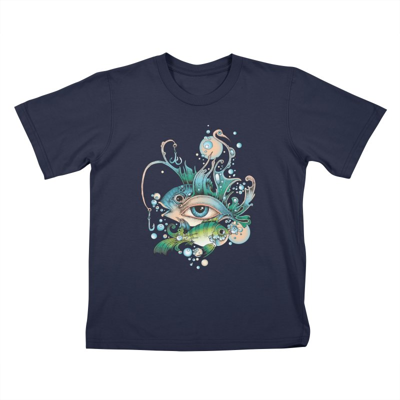 Hook Kids T-Shirt by radecupo's Artist Shop