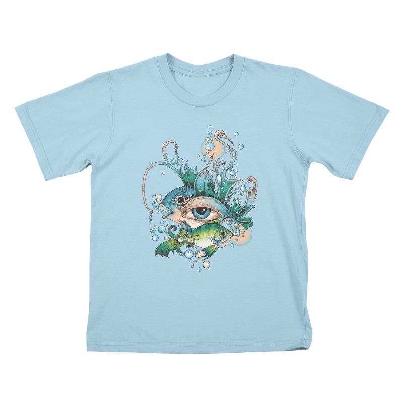 Hook Kids T-Shirt by radecupo's Artist Shop