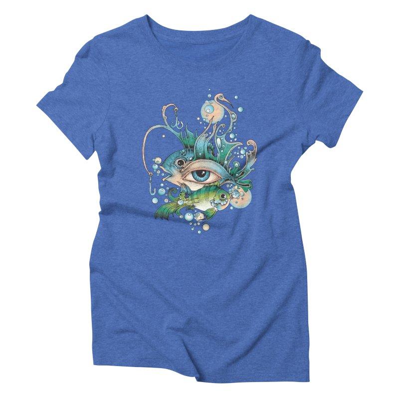 Hook Women's Triblend T-shirt by radecupo's Artist Shop