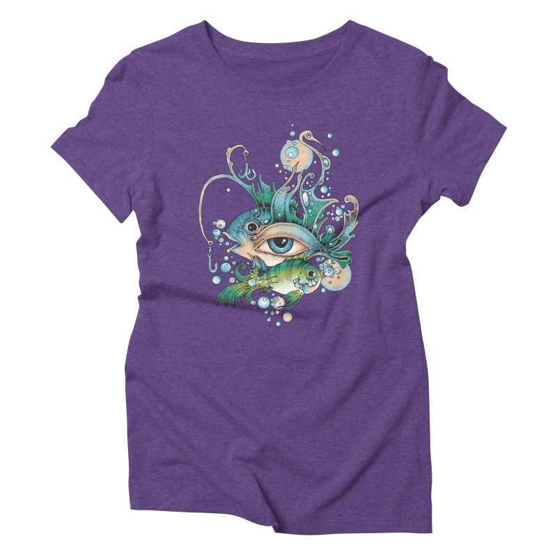 Hook Women's Triblend T-Shirt by radecupo's Artist Shop