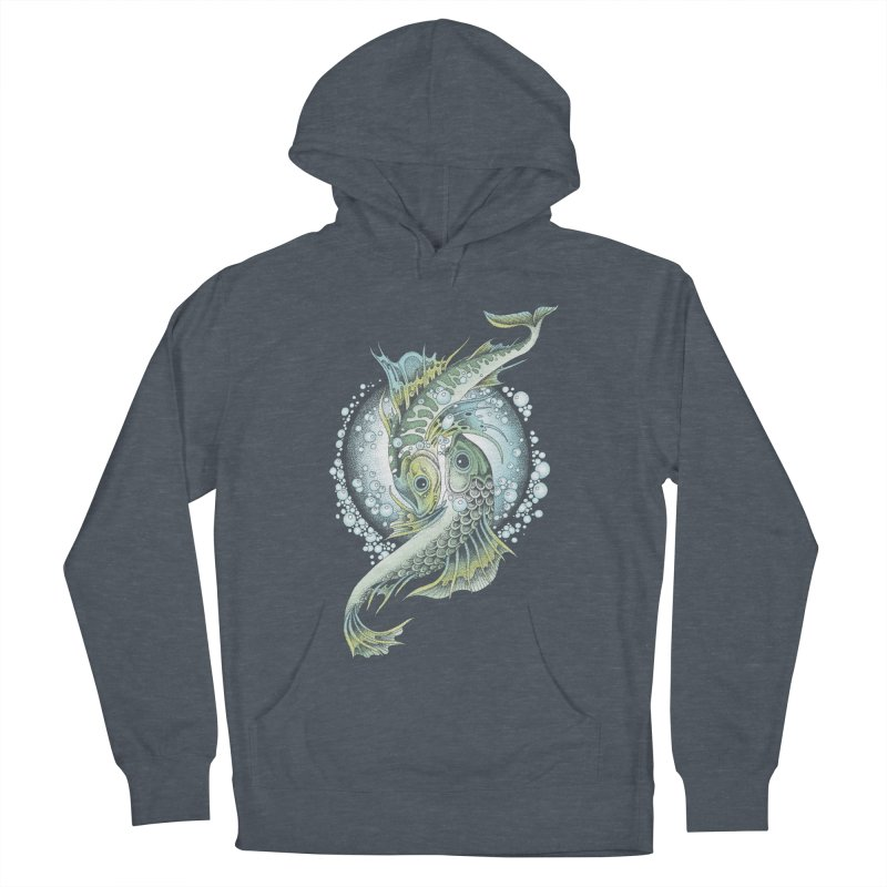 Two Fishes Women's Pullover Hoody by radecupo's Artist Shop