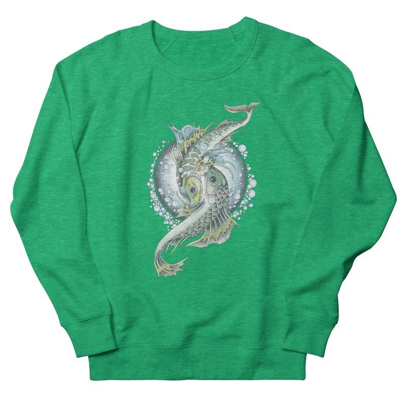 Two Fishes Women's Sweatshirt by radecupo's Artist Shop