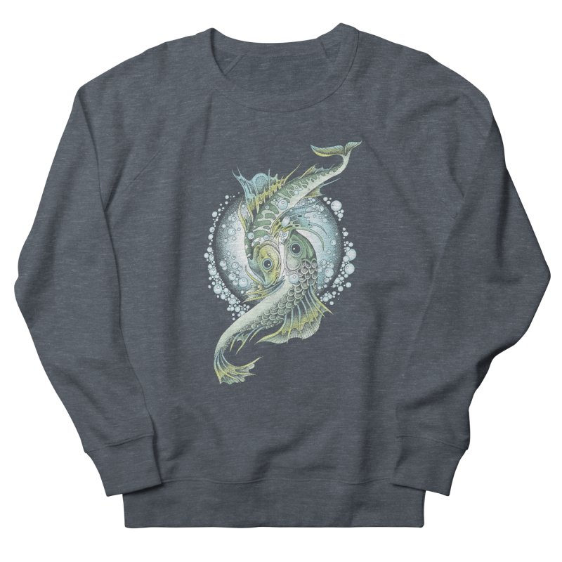 Two Fishes Women's Sweatshirt by radecupo's Artist Shop
