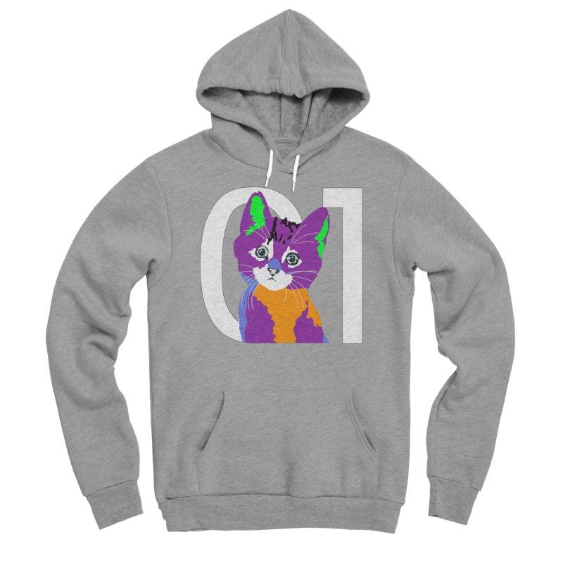 Kitty 01 Women's Sponge Fleece Pullover Hoody by R-A Designs -  Artist Shop