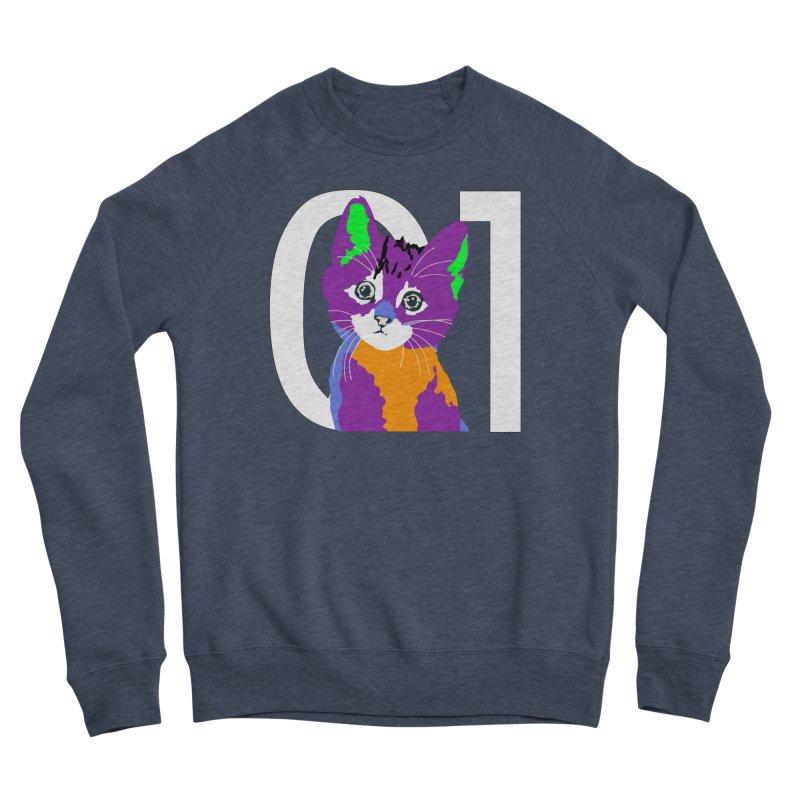 Kitty 01 Women's Sponge Fleece Sweatshirt by R-A Designs -  Artist Shop