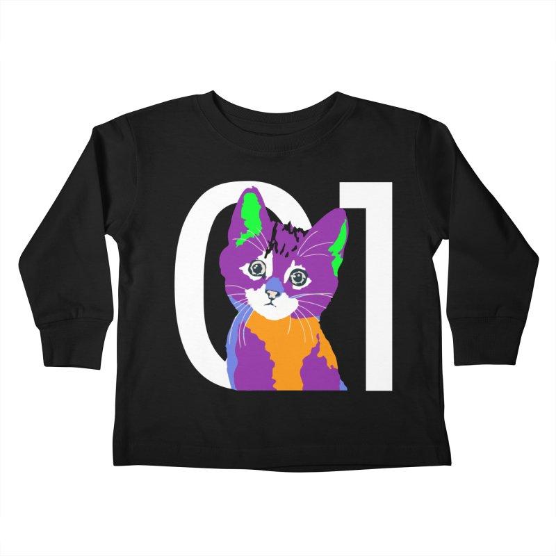 Kitty 01 Kids Toddler Longsleeve T-Shirt by R-A Designs -  Artist Shop