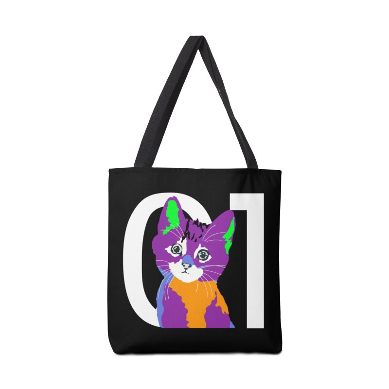 Kitty 01 Accessories Tote Bag Bag by R-A Designs -  Artist Shop