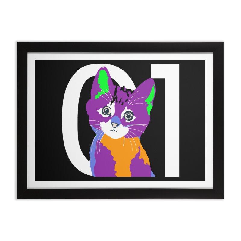 Kitty 01 Home Framed Fine Art Print by R-A Designs -  Artist Shop