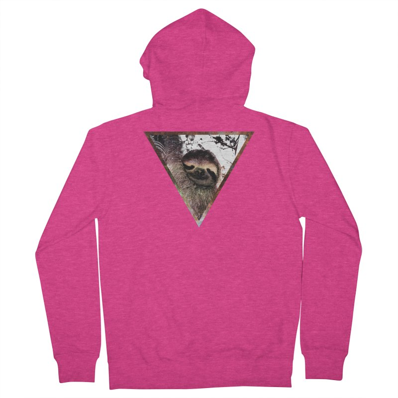 Galactic Sloth Women's Zip-Up Hoody by radesigns's Artist Shop