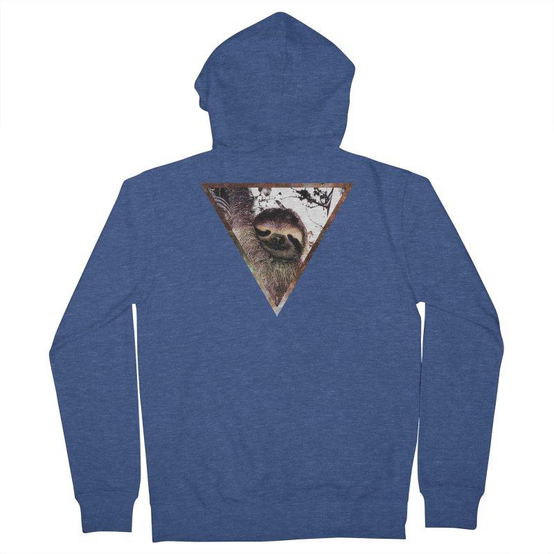 Galactic Sloth Men's Zip-Up Hoody by radesigns's Artist Shop