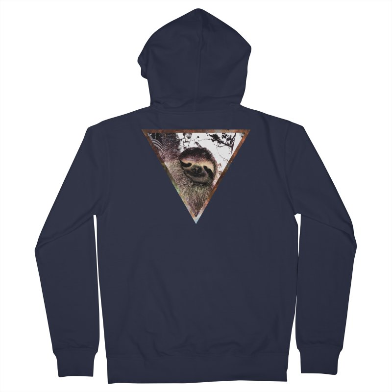 Galactic Sloth Men's Zip-Up Hoody by radesigns's Artist Shop