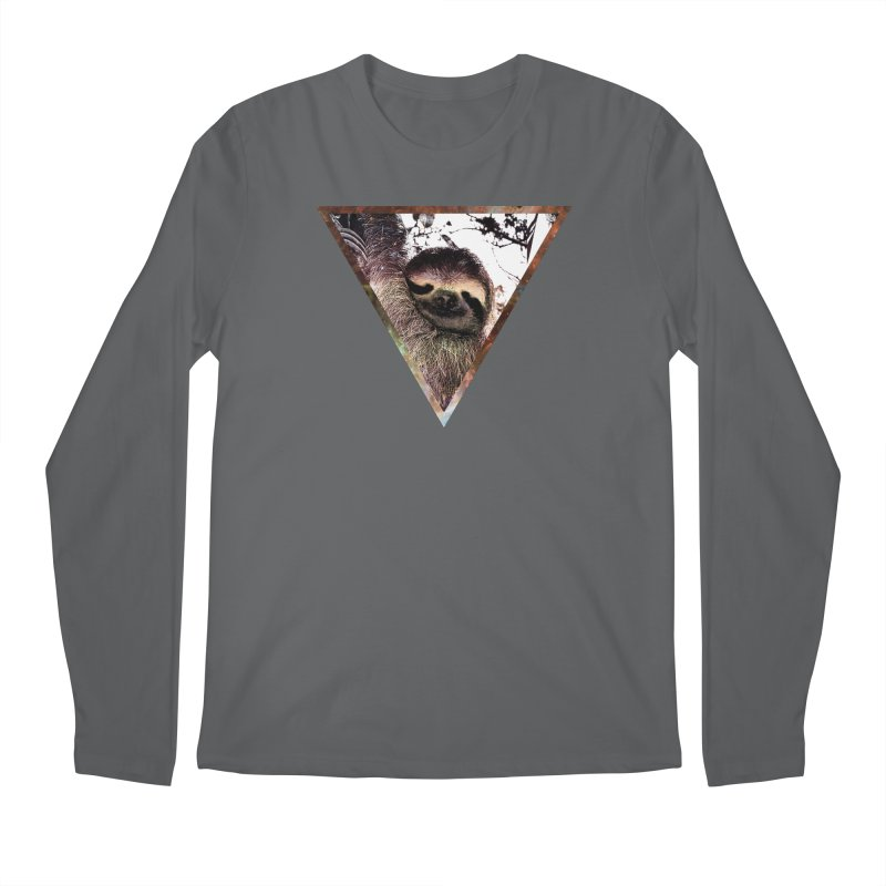 Galactic Sloth Men's Longsleeve T-Shirt by radesigns's Artist Shop