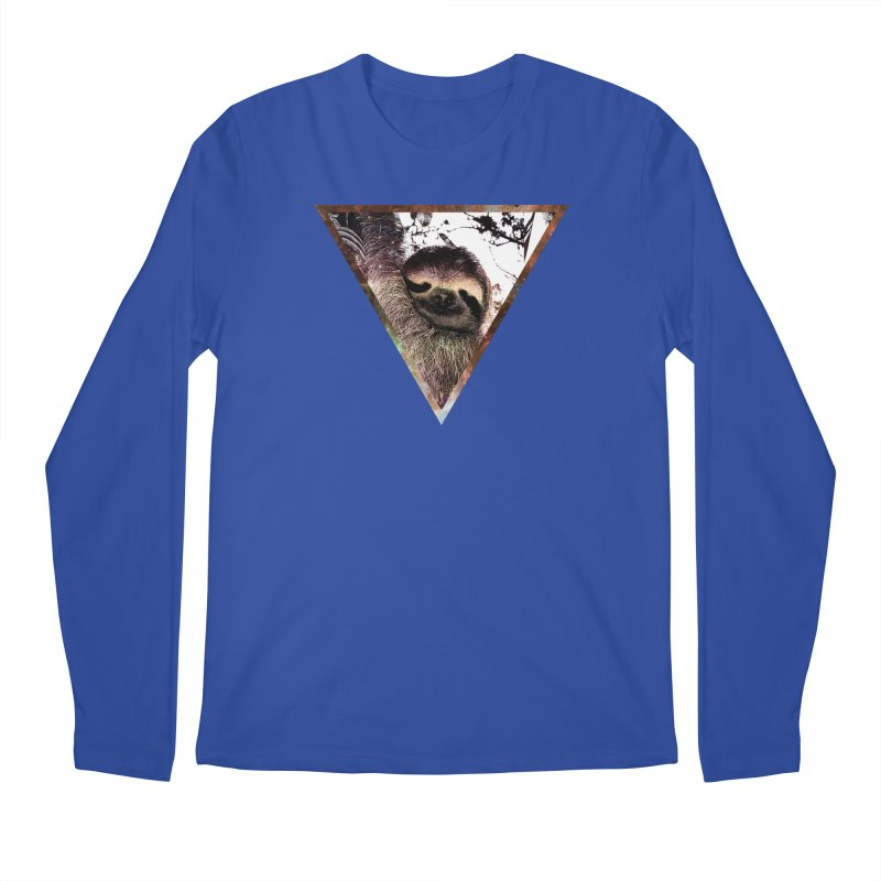 Galactic Sloth Men's Longsleeve T-Shirt by radesigns's Artist Shop