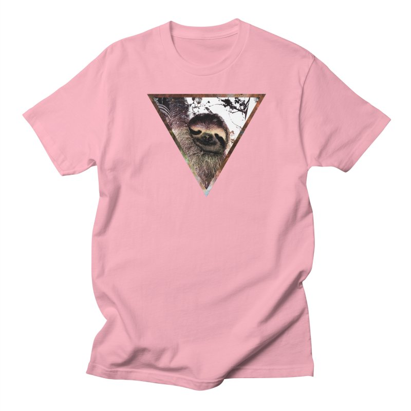 Galactic Sloth Men's T-shirt by radesigns's Artist Shop