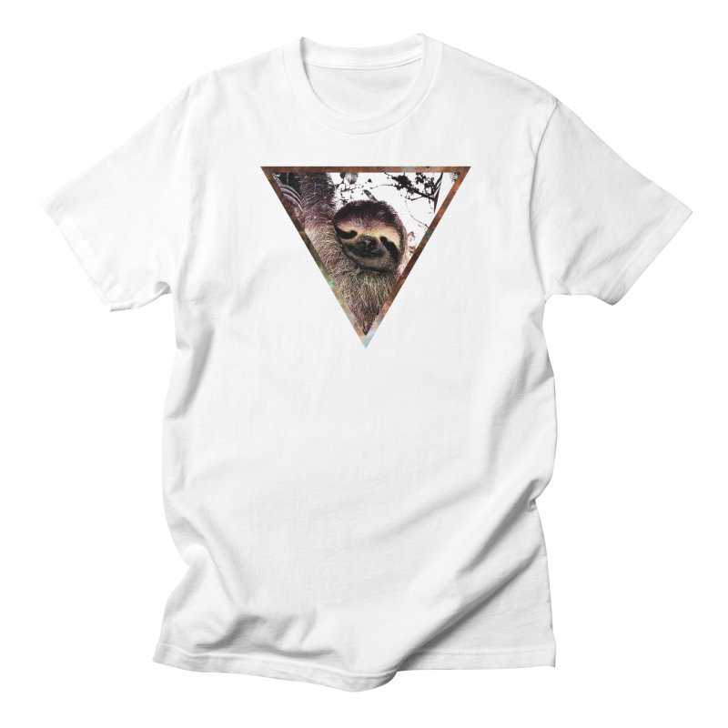 Galactic Sloth Men's T-shirt by radesigns's Artist Shop