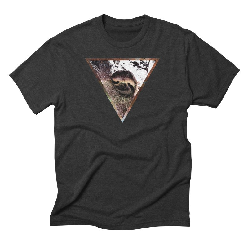 Galactic Sloth Men's Triblend T-Shirt by radesigns's Artist Shop