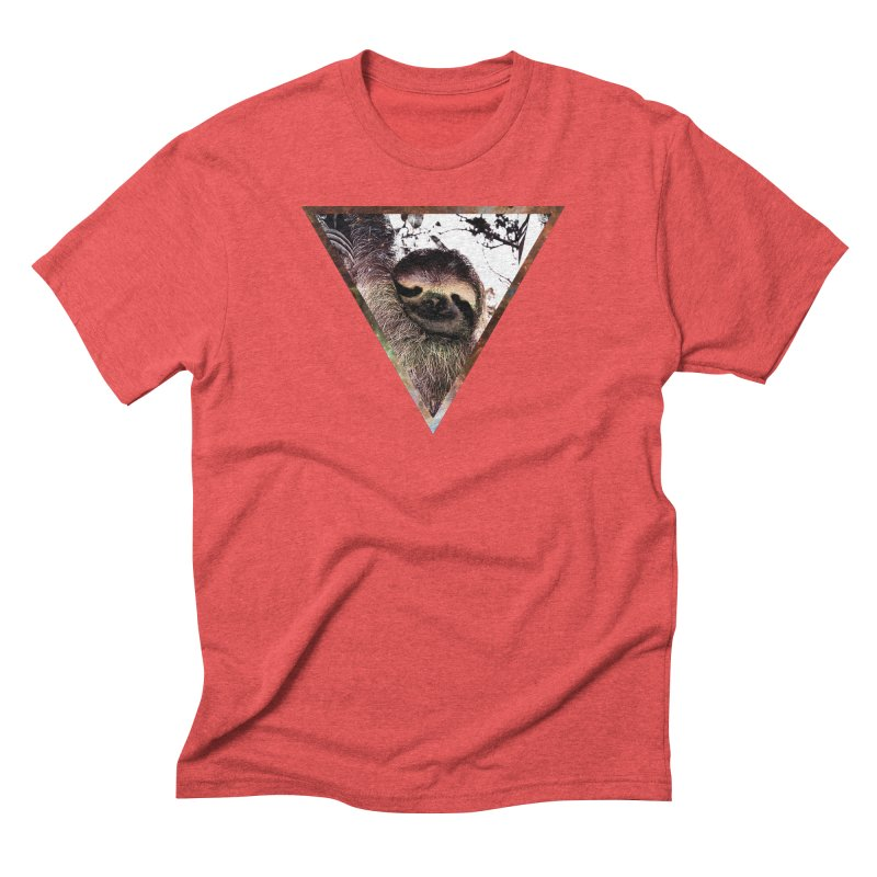 Galactic Sloth Men's Triblend T-shirt by radesigns's Artist Shop