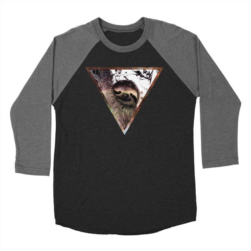 Galactic Sloth Women's Baseball Triblend T-Shirt by radesigns's Artist Shop