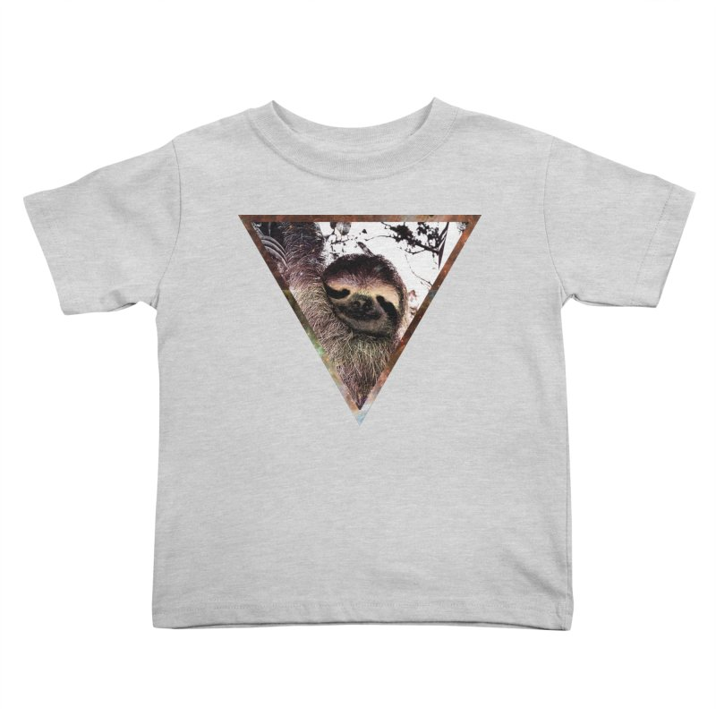 Galactic Sloth Kids Toddler T-Shirt by radesigns's Artist Shop