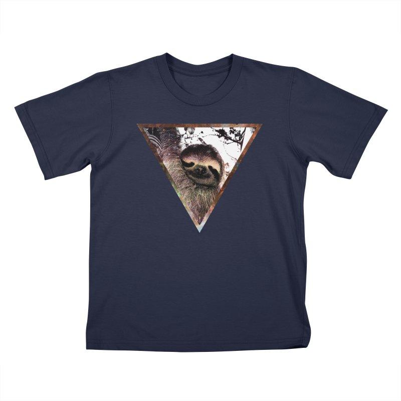 Galactic Sloth Kids T-Shirt by radesigns's Artist Shop
