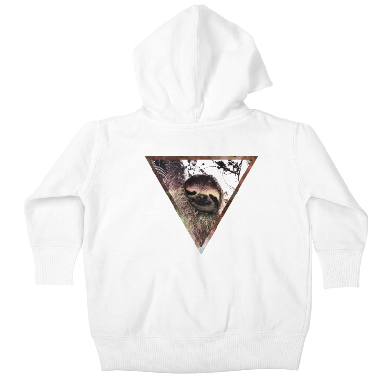 Galactic Sloth Kids Baby Zip-Up Hoody by radesigns's Artist Shop