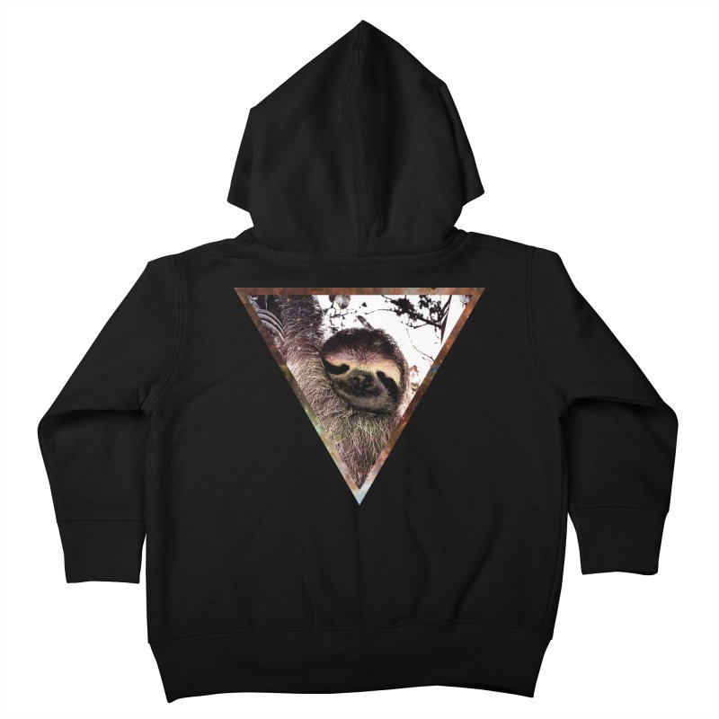 Galactic Sloth Kids Toddler Zip-Up Hoody by radesigns's Artist Shop