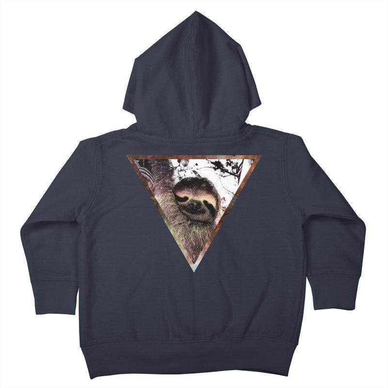 Galactic Sloth Kids Toddler Zip-Up Hoody by radesigns's Artist Shop